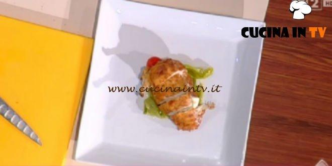 Detto Fatto - ricetta Cotoletta di pollo e friggitelli di Ilario Vinciguerra
