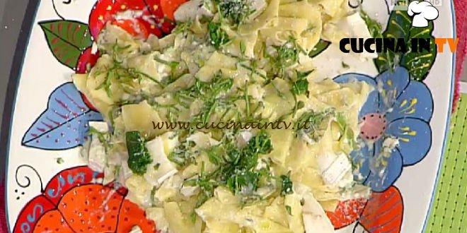 La Prova del Cuoco - Foiade con crescenza e luertis ricetta Marsetti