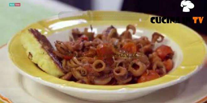 Guazzetto di moscardini ricetta Benedetta Parodi da Molto Bene