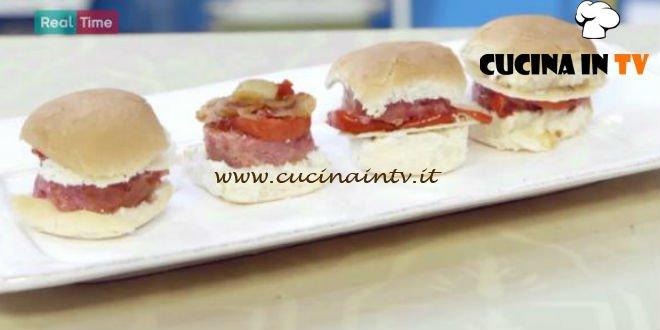 Molto Bene - ricetta Hamburger di cotechino di Benedetta Parodi