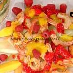 La Prova del Cuoco - Insalata di gamberi alla frutta fresca ricetta Barzetti