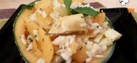 Cotto e mangiato - Insalata di riso e melone ricetta Tessa Gelisio
