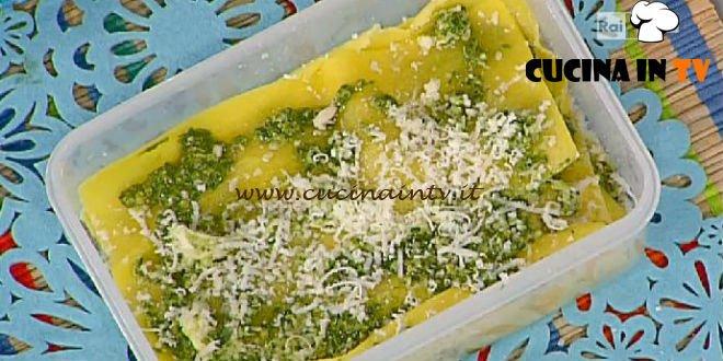 La Prova del Cuoco - ricetta Lasagna al pesto