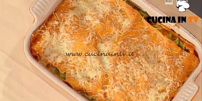 La Prova del Cuoco - Lasagna di primavera ricetta Spisni