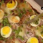 La Prova del Cuoco - Lasagne di crespelle con cotto uova e piselli ricetta Moroni