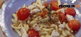 Molto Bene - ricetta Malloreddus pesce spada e pomodorini di Benedetta Parodi