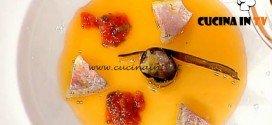 La Prova del Cuoco - Maki di melanzana con triglia ricetta Cedroni