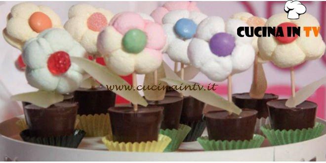 Detto Fatto - Margherite golose con marshmallow e cioccolato ricetta Loccisano