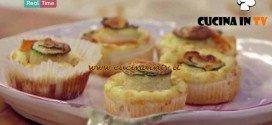 Molto Bene - ricetta Mini quiche alle verdure di Benedetta Parodi