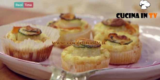 Mini quiche alle verdure ricetta Benedetta Parodi da Molto Bene