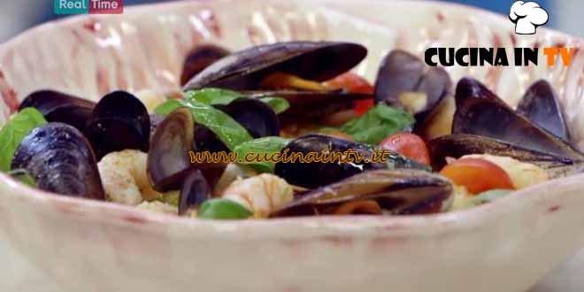 Panzanella di mare ricetta Benedetta Parodi da Molto Bene