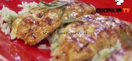 Molto Bene - ricetta Pollo allo sciroppo d'acero con riso basmati al lime di Benedetta Parodi