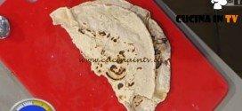 La Prova del Cuoco - ricetta Piada sfogliata con pollo al miele barricato radicchio e guacamole