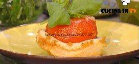 La Prova del Cuoco - Piccole tatin ai pomodori e scamorza ricetta Barzetti