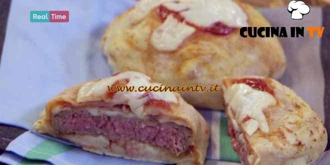 Pizza burger ricetta Benedetta Parodi da Molto Bene