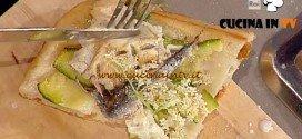 La Prova del Cuoco - Pizza fiori alici e zucchine ricetta Bonci