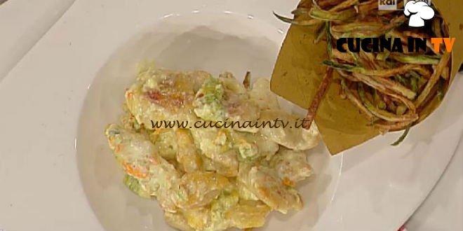 La Prova del Cuoco - Pollo alla crema di yogurt e zucchine fritte ricetta Barzetti