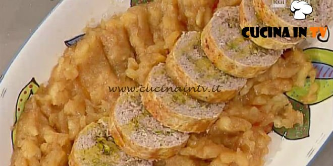 La Prova del Cuoco - Polpettone di pollo farcito ricetta Moroni