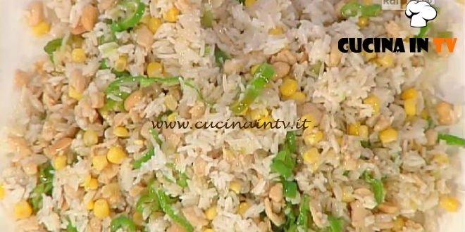 La Prova del Cuoco - Riso fritto con pollo e zenzero ricetta Cattelani