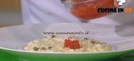 Detto Fatto - ricetta Risotto ai calamaretti di Fabio Pisani