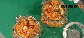 La Prova del Cuoco - Ruote al pesto rosso ricetta Messeri