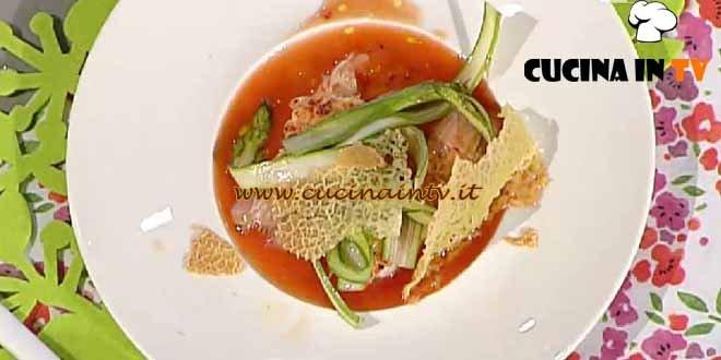La Prova del Cuoco - ricetta Scampi al Bloody Mary
