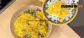 La Prova del Cuoco - Tagliatelle asparagi e prosciutto crudo ricetta Spisni