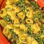 La Prova del Cuoco - Tortelli di magro con salsa ai piselli ricetta Spisni