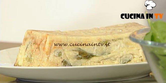La Prova del Cuoco - Tortino di crepes primaverile ricetta Cattelani