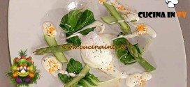 La Prova del Cuoco - Uovo in camicia asparagi fonduta di parmigiano e tartufo nero ricetta Alciati