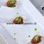 Masterchef 4 - ricetta Filetto di fassone spuma di bagna cauda e croccante al prezzemolo di Stefano