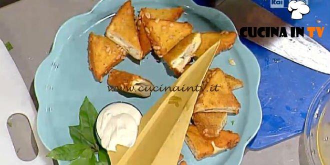 La Prova del Cuoco - Tramezzini di pollo ricetta Barzetti