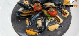 Masterchef 4 - ricetta Zuppa di cozze nel latte di mozzarella nera di Stefano
