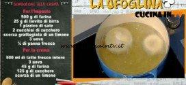 La Prova del Cuoco - Bomboloni alla crema ricetta Spisni