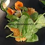 La Prova del Cuoco - Cotolette di tacchino al tarallo con insalatina di spinaci porcini e citronette ricetta Sergio Barzetti