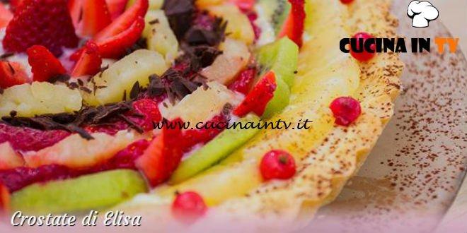 Bake Off Italia 3 - ricetta Crostata ricotta e pere di Elisa