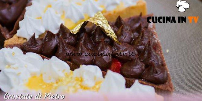Bake Off Italia 3 - ricetta Crostata di nocciole con crema al limone e meringa all'italiana di Pietro