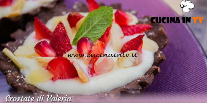 Bake Off Italia 3 - ricetta Crostata di fragole e mandorle di Valeria