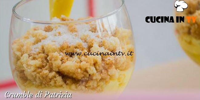 Bake Off Italia 3 - ricetta Crumble alle creme di Patrizia
