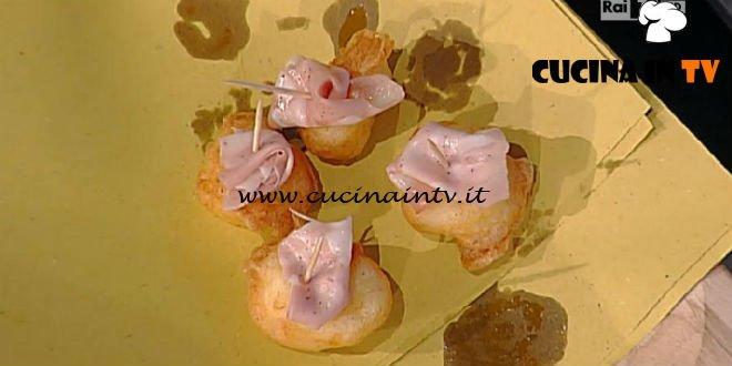 La Prova del Cuoco - Gnocchi fritti con stracchino e mortadella ricetta Luisanna Messeri