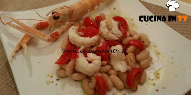 Cotto e mangiato - Insalata di scampi ricetta Tessa Gelisio