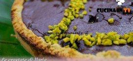 Bake Off Italia 3 - ricetta Crostata al pistacchio e crema al cioccolato di Ilaria