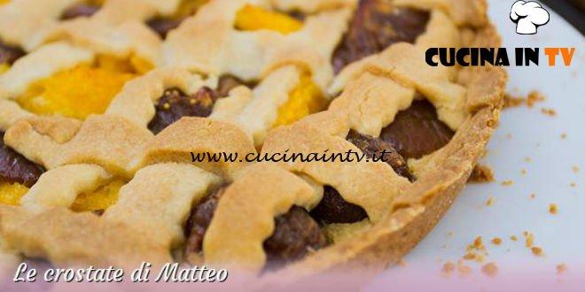 Bake Off Italia 3 - ricetta Crostata di mandorle e pinoli di Matteo