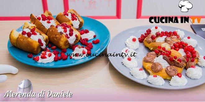 Bake Off Italia 3 - ricetta Crepes al taleggio radicchio e salsa di noci di Daniele