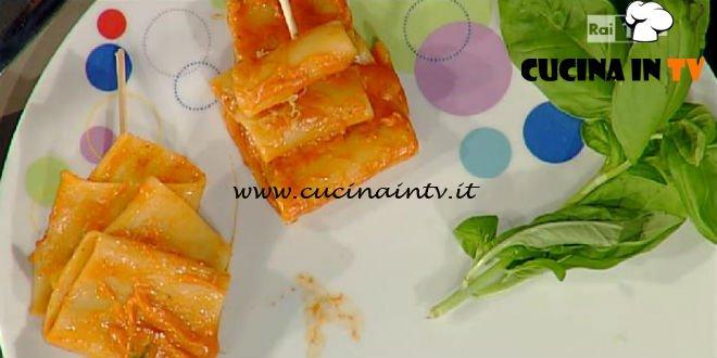 La Prova del Cuoco - Paccheri dei ciabattini ricetta Anna Moroni