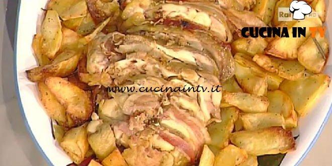 La Prova del Cuoco - Pollo ripieno alla moda tarquiniese ricetta Anna Moroni