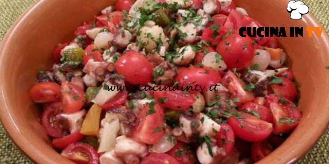Cotto e mangiato - Polpo alla giardiniera ricetta Tessa Gelisio