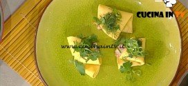 La Prova del Cuoco - Ravioli ai gamberi Anni 80 ricetta Hirohiko Shoda