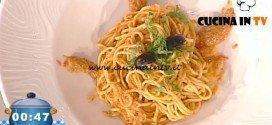 La Prova del Cuoco - ricetta Tagliolini al pesto rosso calabrese