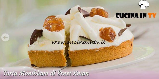 Bake Off Italia 3 - ricetta Torta Montblanc di Ernst Knam